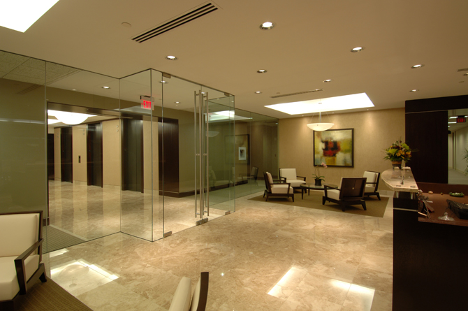 AG Edwards Reception Area