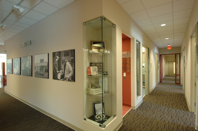 Ben Massell Dental Clinic Hallway