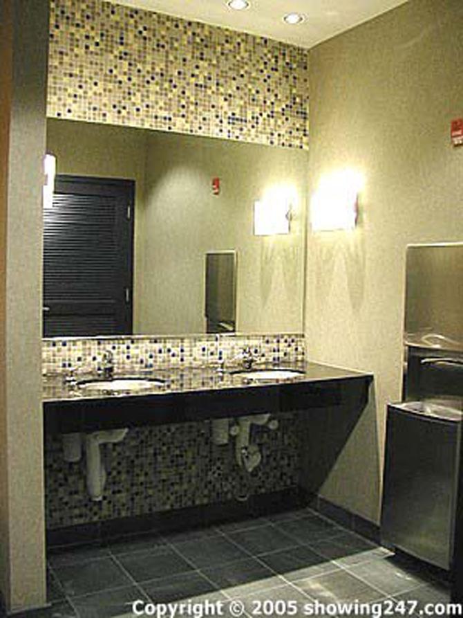 Blue Horse Bathroom