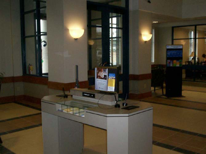 Colonial Bank Lobby