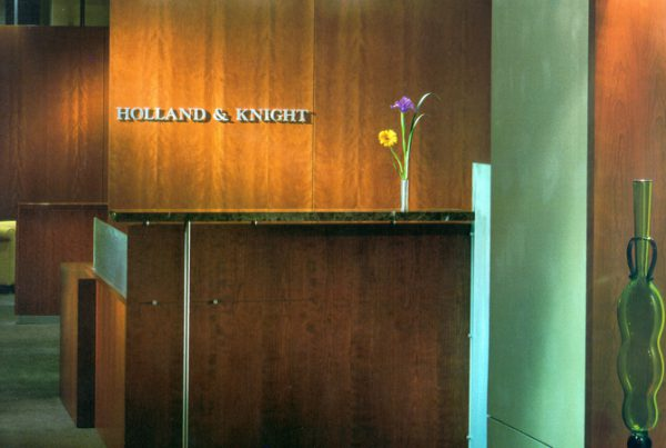 Holland & Knight Lobby