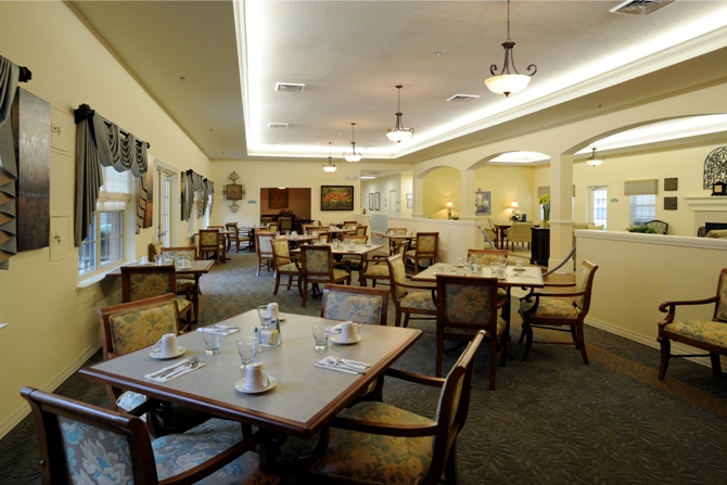 Laurel Creek Dining Area