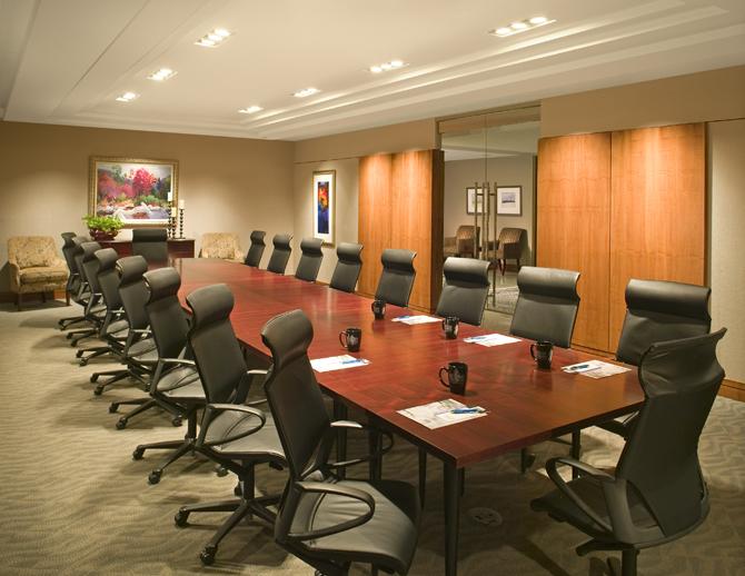 Mauldin & Jenkins Boardroom