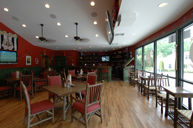 OEI Rib Shack Dining Area