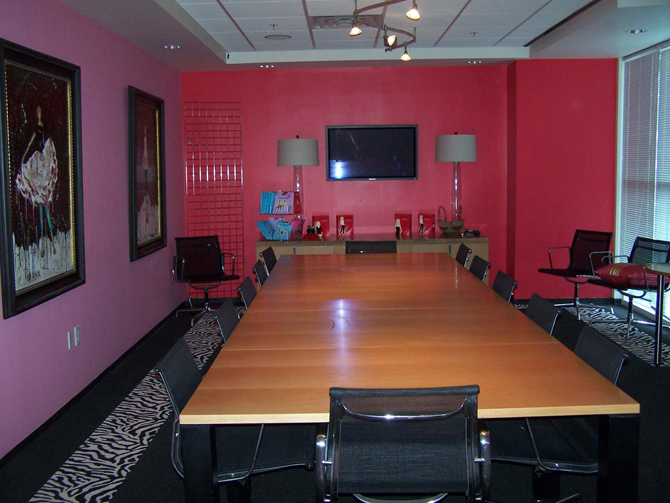 Spanx Headquarters Boardroom