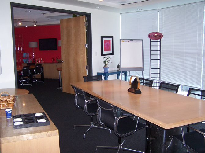 Spanx Headquarters Meeting Room