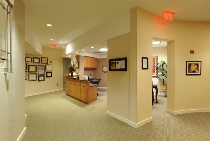 The Swan Center Lobby