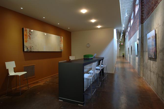 Urban Body Studios Meeting Area