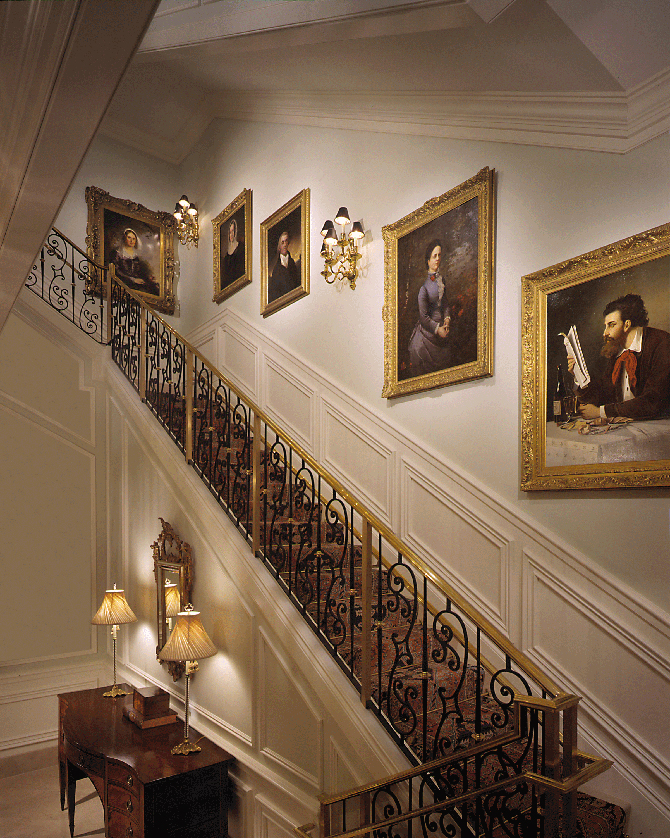 WB Johnson Staircase